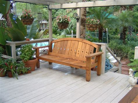 Cedar Patio Furniture Sets Western Cedar Patio Set Outdoor Benches Orlando By Figueroa S Custom Furniture