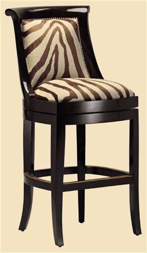 zebra bar chairs metropolitan barstool the zebra pattern decor