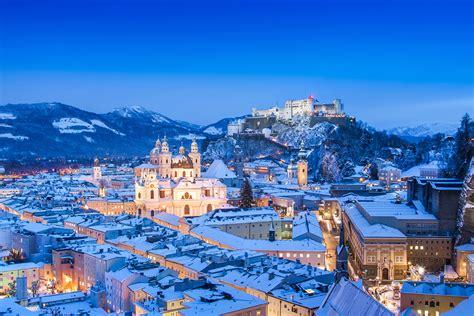 wann ist der erste advent blue hour works its magic on salzburg austria mnn
