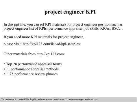 design engineer kpi project engineer kpi