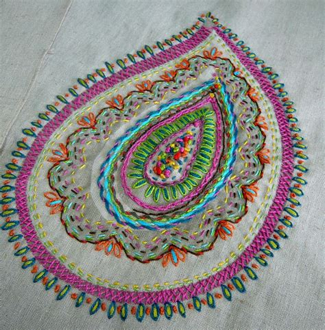 Patchwork Embroidery - embroidery from our workshop at ballarat patchwork by