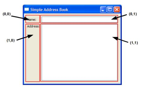 qt tutorial address book qt 4 6 address book 1 designing the user interface