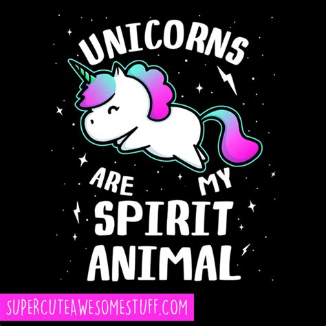 My Spirit Animal unicorns are my spirit animal t shirt awesome