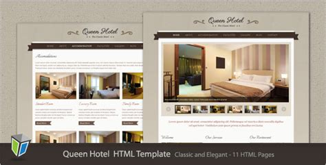 22 Free Premium Hotel Html Templates With Booking Hotel Website Templates