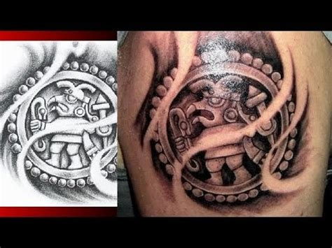 image gallery mayan aztec tattoo designs