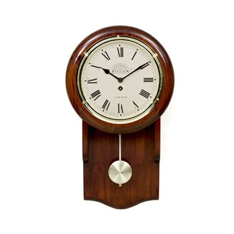 Kitchen Knives Perth by Victoria Station Pendulum Wall Clock On Sale Now