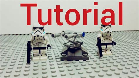 lego watch tutorial lego star wars flexibelis gesch 252 tz mini tutorial deutch