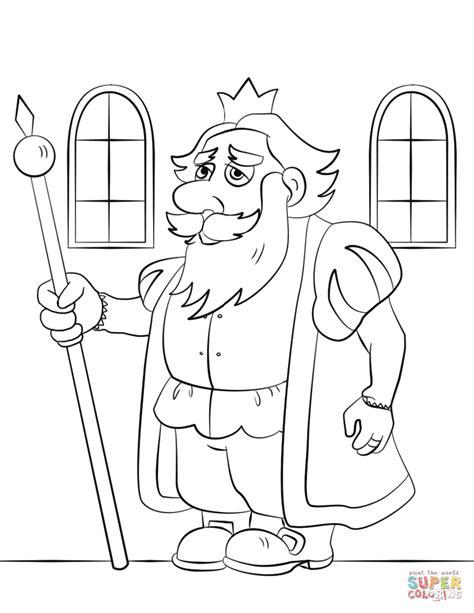 Cartoon King Coloring Page Free Printable Coloring Pages King Coloring Page