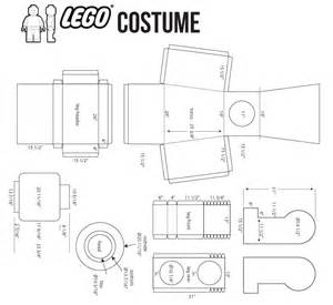 Lego Minifigure Template by Building An Awesome Emmet Lego Costume