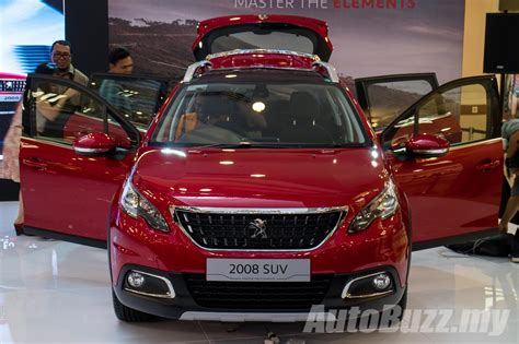 peugeot malaysia 2017 peugeot 2008 facelift launched in malaysia 1 2l
