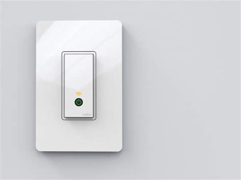 Belkin Light Switch by Belkin Wemo Light Switch Unveiled With Ios And Android