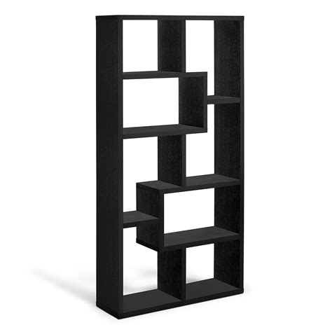 black bookcase obsidian bookcase black value city furniture