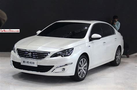 peugeot cars 408 peugeot 408 sedan arrives at the 2014 beijing auto show