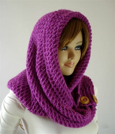 knitting pattern for scarf with hood knitting pattern hood scarf loulou kiss hooded scarf hood