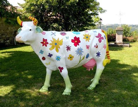 Vache Decorative by Vache En Resine Animaux En Resine