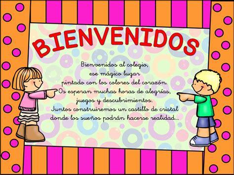 imagenes educativas de bienvenida cartel de bienvenida 7 orientaci 243 n and 250 jar recursos