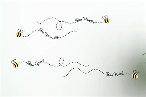 bee wall stickers the bee philosophies wall decals bee wall decals childrens