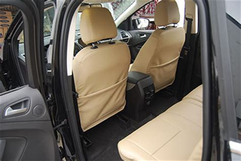 ford escape leather seat replacement ford escape 2013 2016 iggee s leather custom seat cover