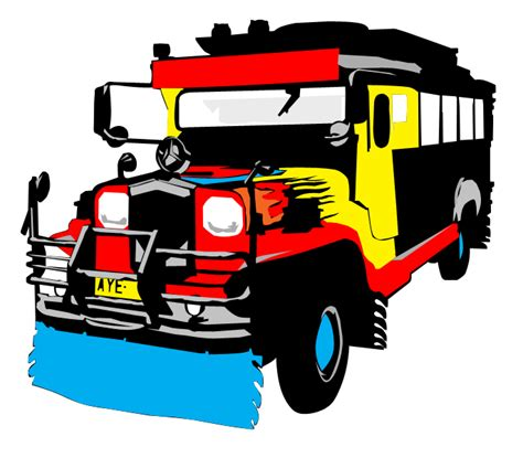 philippine jeep drawing jeepney side view vector www pixshark com images