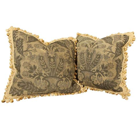 Tapestry Pillows For by Pair Tapestry Pillows At 1stdibs