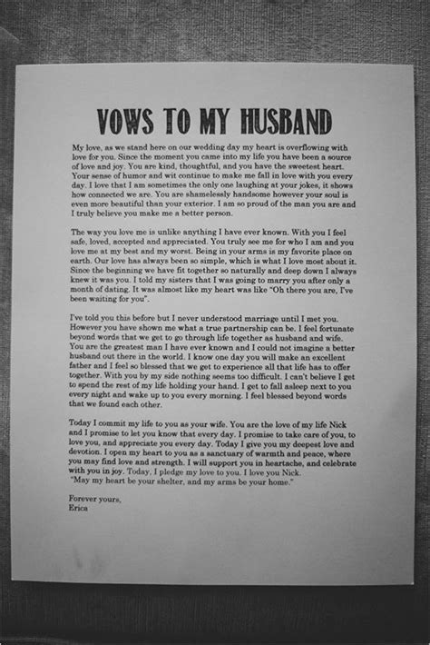 wedding vows to husband best photos   Page 3 of 5   Cute