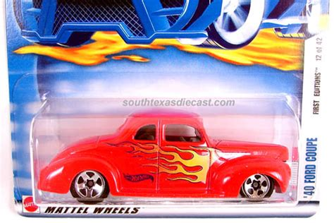 Diecast Wheels 40 Ford Coupe 2002 Editions Collector No 024 40 ford coupe model cars hobbydb