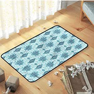 amazoncom indoor outdoor decorative floor mat