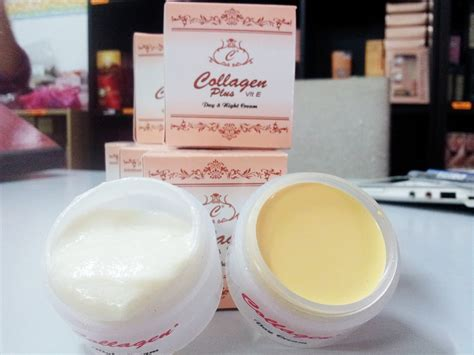 Collagen Day collagen plus vit e day cream for face nose