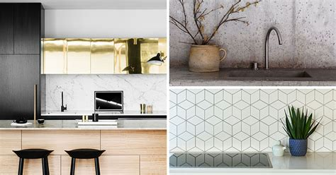 kitchen backsplash materials 9 ideas for backsplash materials you can install in your