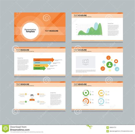 layout presentation illustrator presentation template infographic business vector