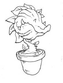 free a venus fly trap coloring pages
