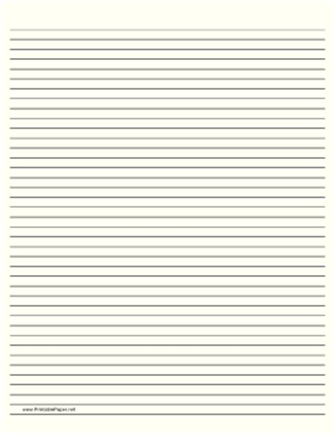 free printable dark lined paper printable lined paper pale yellow narrow black lines
