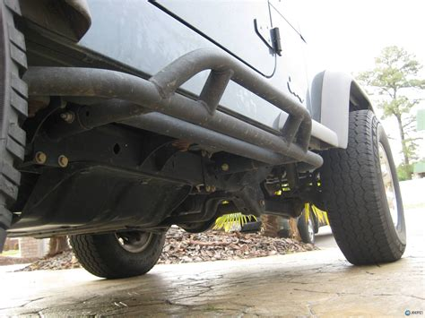 Jeep Yj Rock Sliders Reversable Rock Sliders A Bars By Olympic