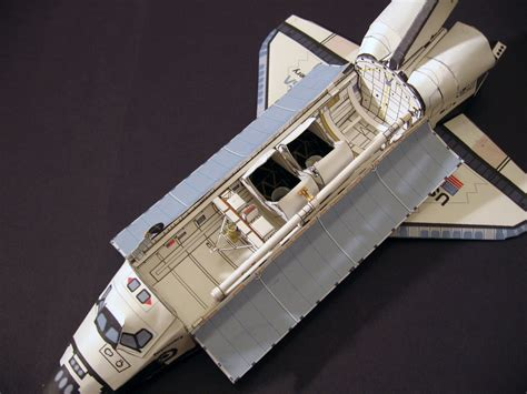 Papercraft Sts - paper model papercrafts space shuttle discovery