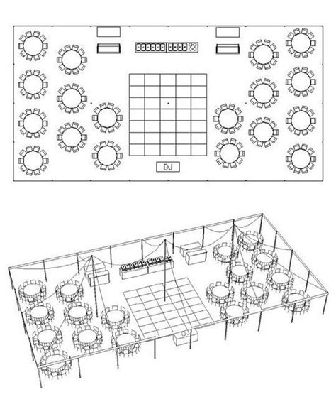 wedding layout tent 66 best images about wedding floor plans on pinterest