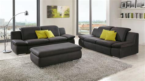 sofa isona  sitzer stoff anthrazit mit komfortfunktion