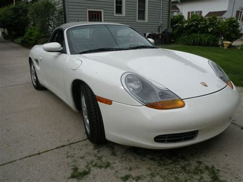 white porsche boxster convertible buy used 2000 white porsche boxter convertible in