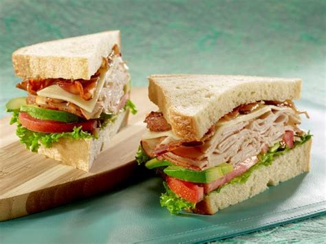 ovengold turkey avocado sandwich with bacon recipe food com