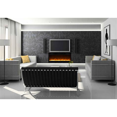 Recessed Electric Fireplace Moda 36 Inch Cynergy Built In Recessed Wall Mounted Electric Fireplace