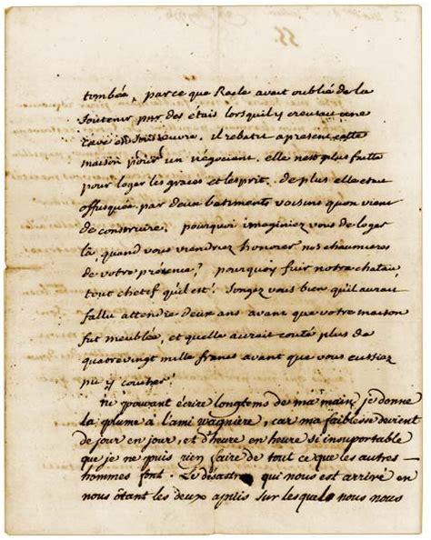 Lettre De Cachet De Voltaire Bnf L Aventures Des Critures Naissances Lettre De Voltaire 2 4