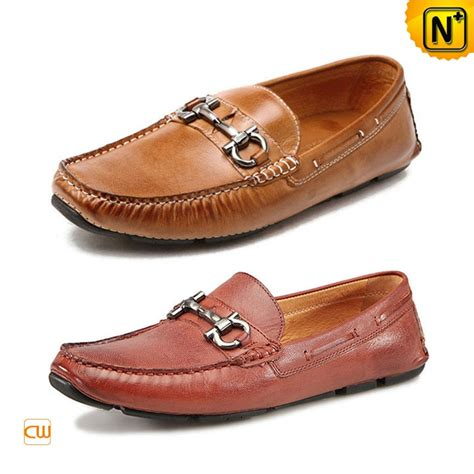 mens leather driving loafers gommino leather driving shoes for cw740015