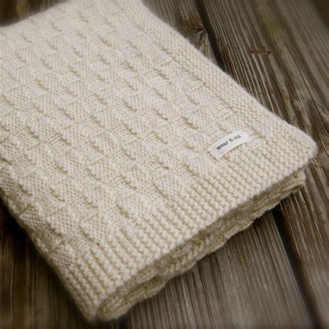 basket weave knit baby blanket pattern big bad wool weepaca basket weave baby blanket knitting