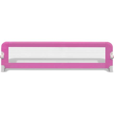 safety bed rail toddler safety bed rail 150 x 42 cm pink vidaxl co uk