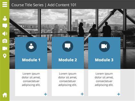 Here S A Free E Learning Template To Get The New Year Started The Rapid E Learning Blog Articulate Powerpoint Templates