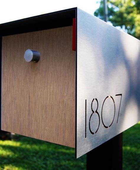 modern mailbox 32 awesome apartment mailboxes interior designs home