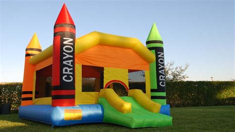 bounce house to buy inflatable crayon bounce house cool things to buy 247
