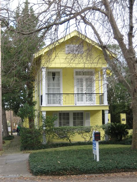 yellow houses on yellow cottage cottages and