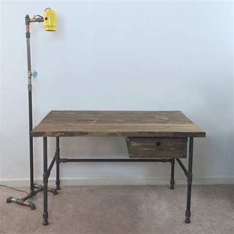 3 Up Desk Style Checks by Industrial Style Desk Ryobi Nation Projects