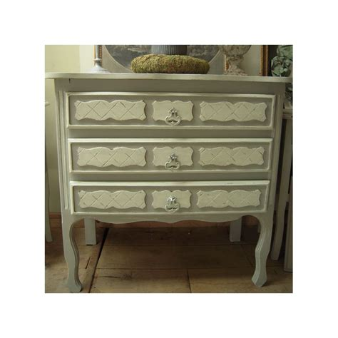 Commode Style Gustavien by Commode Ancienne Forme Galb 233 E 3 Tiroirs Patin 233 Gris Gustavien