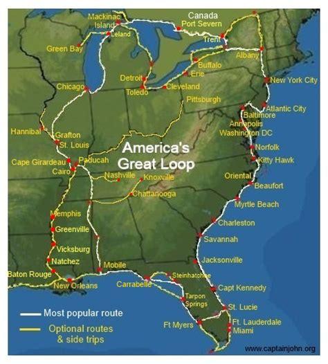great loop boats cruising america s great loop